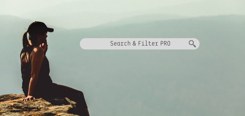 『Search & Filter PROでフリーワード検索を強化する方法』というブログのイメージ画像です。
